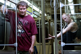 Thugs on the Green Line - Production Still