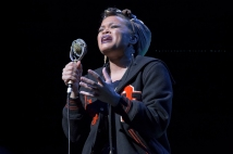 Andra Day performs at Summerfest on July 6, 2016