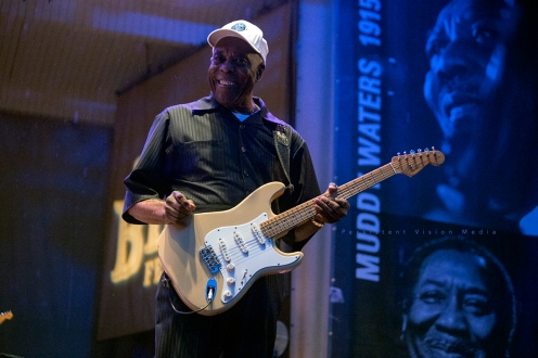 Buddy Guy headlines Chicago Blues Festival at Grant Park on June 13, 2015