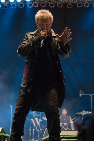 Billy Idol performs at Riot Fest Chicago on September 12, 2015 in Chicago, Illinois