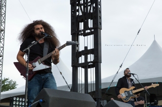 Coheed and Cambria performs at Riot Fest Chicago on September 11, 2015 in Chicago, Illinois