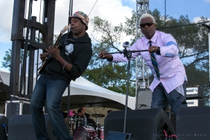 Living Colour performs at Riot Fest in Chicago on September 11, 2015