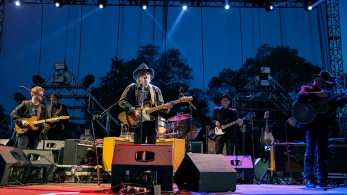 Merle Haggard performs at Riot Fest Chicago on September 12, 2015 in Chicago, Illinois
