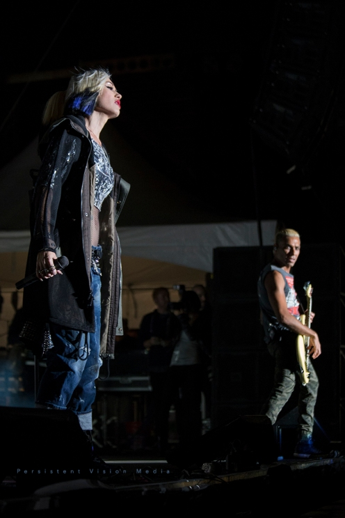 Gwen Stefani of No Doubt performs at Riot Fest in Chicago on September 11, 2015