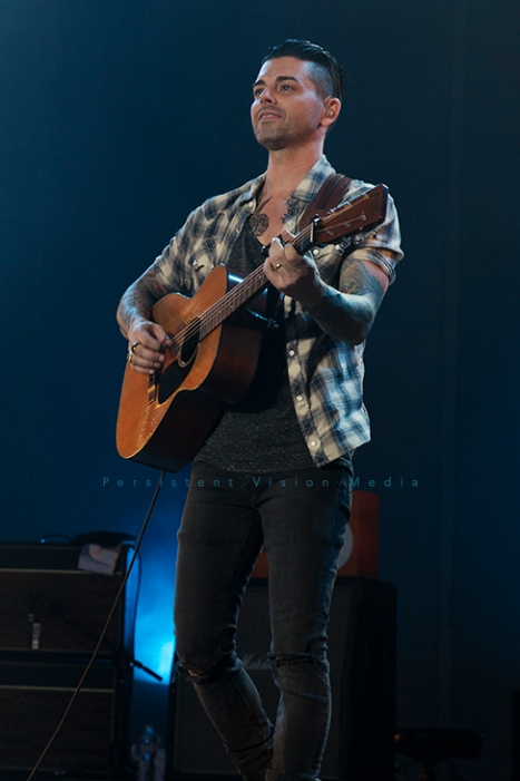 Dashboard Confessional performs at FirstMerit Bank Pavilion on June 26, 2015