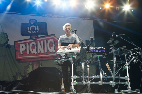 Robert DeLong performs at 101WKQX Piqniq on June 18, 2016