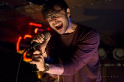 Conor Murphy of Foxing headlines at Subterranean in Chicago, IL on March 6, 2016.