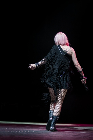 Shirley Manson of Garbage performs at 101WKQX Piqniq on June 18, 2016