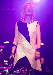 Shirley Manson of Garbage performs at Summerfest on July 6, 2016