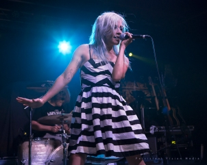 Lacey Sturm performs at H.O.M.E. Bar in Arlington Heights, IL on April 24, 2016.