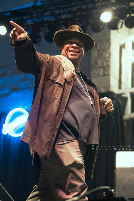 Anthony Ray of Sir Mix-a-Lot performs at Summerfest on July 6, 2016