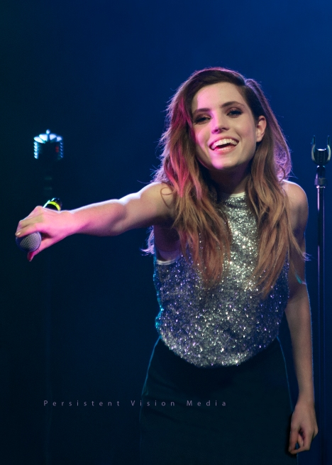 Sydney Sierota performs at The Palmer House Hilton on July 10, 2015