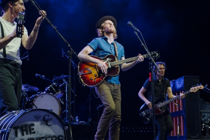 The Lumineers performs at 101WKQX Piqniq on June 18, 2016