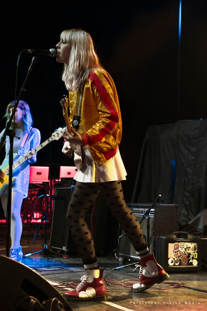 2016 - USA - Potty Mouth performs at The Riviera Theatre