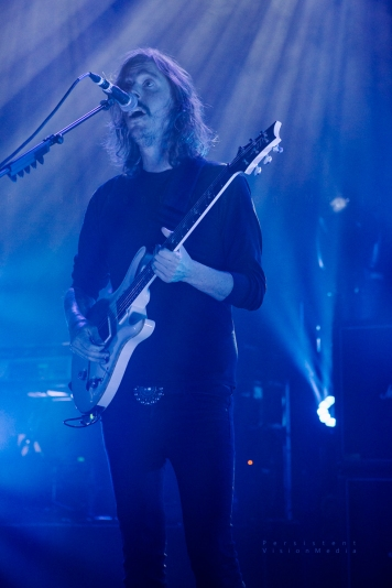Opeth performs at Riviera Theatre in Chicago on October 9, 2016