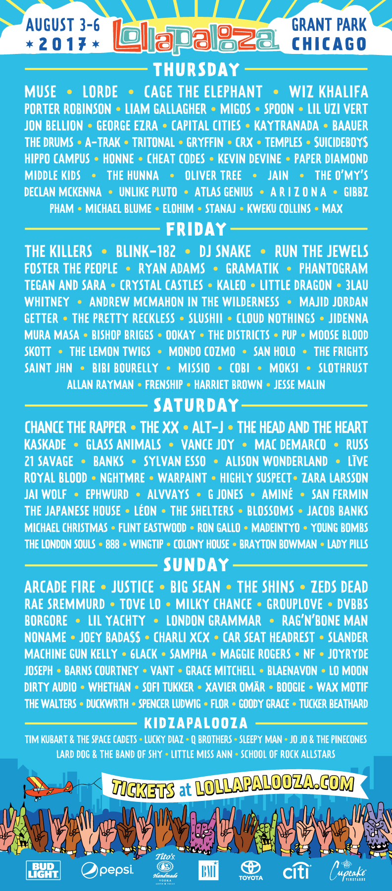 Lolla-2017-by-day