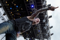 Atreyu performs at Riot Fest Chicago on September 11, 2015 in Chicago, Illinois